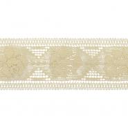 Čipka, pamuk, 75 mm, 481-2, bež
