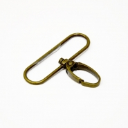 Carabiner for 50mm strip, 00443-2, gold