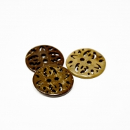 Button, carved, 00500-36, 23mm - Bema Fabrics