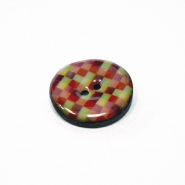 Button, bamboo, for suits, 30mm, 00502-4810