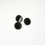 Button, for suits, black, 15435-3b - Bema Fabrics