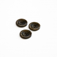 Button, for suits, brown, 18 mm, 15506-11A