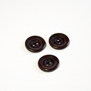 Button, for suits, red brown, 18 mm, 15506-11B
