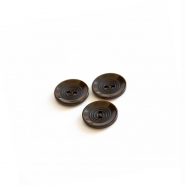 Button, for suits, brown, 17 mm, 15506-11D - Bema Fabrics