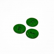 Button, for suits, green, 17 mm, 15506-11P - Bema Fabrics