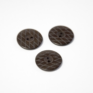 Button, for suits, brown, 23 mm, 15508-1M