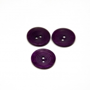 Button, for suits, purple, 22 mm, 15508-1V