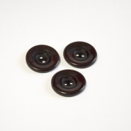 Button, for suits, red brown, 23 mm, 15508-11B