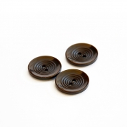 Button, for suits, brown, 22 mm, 15508-11D