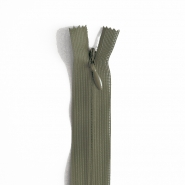 Zipper, invisible 22 cm, 04 mm, 4471-671, olive green