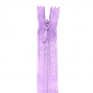 Zipper, invisible 22 cm, 04 mm, 4471-410, lavander