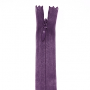 Zipper, invisible 40 cm, 04 mm, 4470-388, purple