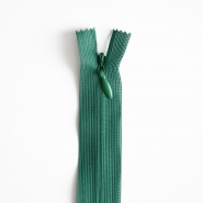 Zipper, invisible 40 cm, 04 mm, 4470-685, dark green