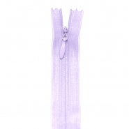 Zipper, invisible 40 cm, 04 mm, 4470-410A, lavander