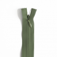 Zipper, invisible 40 cm, 04 mm, 4470-671A, green