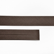 Bias tape, cotton, 15516-88, brown