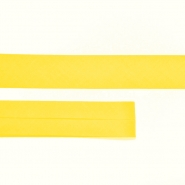 Bias tape, cotton, 15516-15, yellow