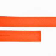 Bias tape, cotton, 15516-260, orange