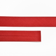 Bias tape, cotton, 15516-75, red