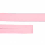 Bias tape, cotton, 15516-9, baby pink