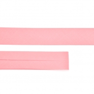 Bias tape, cotton, 15516-10, pink