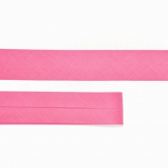 Bias tape, cotton, 15516-43, pink