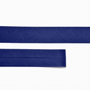 Bias tape, cotton, 15516-86, blue