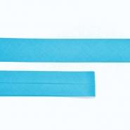 Bias tape, cotton, 15516-58, turquoise