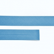 Bias tape, cotton, 15516-53, blue
