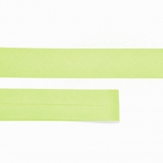 Bias tape, cotton,  15516-106, lime green