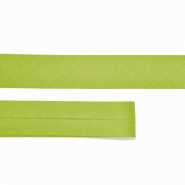 Bias tape, cotton, 15516-435, green