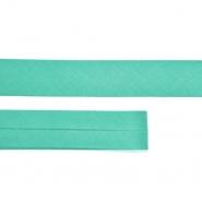 Bias tape, cotton,  15516-25, turquoise