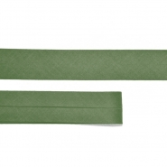 Bias tape, cotton, 15516-98, green