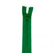 Reißverschluss, spiralig, 20cm, 04mm, 2042-652, grün