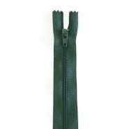 Zipper, spiral 20 cm, 04 mm, 2042-685A, green