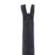 Zipper, invisible 60 cm, 04 mm, 2041-910A, black