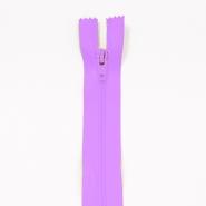 Reißverschluss, spiralig, 20cm, 04mm, 2042-410C, lavendel