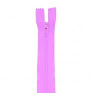Zipper, spiral 20 cm, 04 mm, 2042-420A, pink