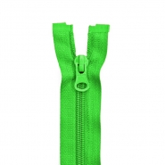 Zipper, divisible 60 cm, 6 mm, 2051-616, green