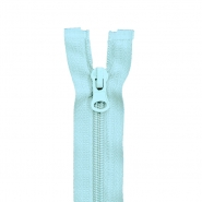 Zipper, divisible 60 cm, 6 mm, 2051-503B, light blue - Bema Fabrics