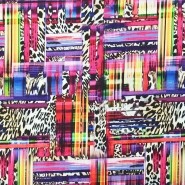Cotton, print, abstract, 15607-017 - Bema Fabrics