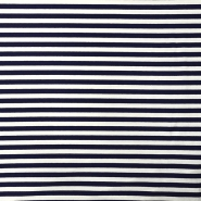Tricot material, stripes, 15633-308, blue