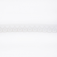 Lace, border, 10mm, 14165-3b, white