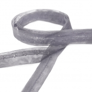 Hooks on a bias tape, 14165-73, grey