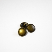 Button, for suits, bomblet, gold, 15 mm, 15505-1