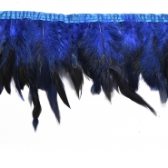 Feathers on a strip, 15584-1, blue