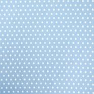 Bombaž, poplin, zvezde, 15596-005