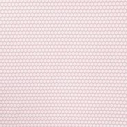 Bombaž, poplin, rožice, 15596-201