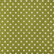 Cotton, poplin, dots, 15523-604, green