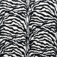 Krzno, umjetno, zebra, 15645